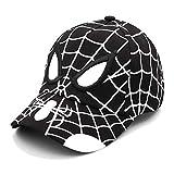WAZHX Broderie Enfants Casquette De Baseball Spider Man Chapeau De Soleil Maille Dessin Animé Réglable Hip-Hop Casquettes Respirant Été en Plein Air Enfant Chapeaux A