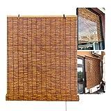 XYNH Rollo-Bambus Outdoor   Bambusrollo Ohne Bohren   Sonnenschutz, Sichtschutz, Holzrollo Für Indoor Deko Or Außenbereich, Für Fenster, Pavillon, Balkon, Garten, Terrasse