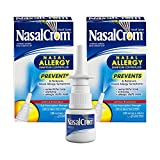 NasalCrom Nasal Spray Allergy Symptom Controller | 200 Sprays | .88 FL OZ | 2 Pack