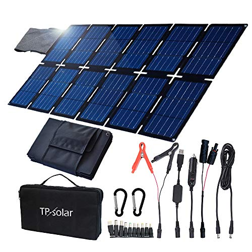 in budget affordable Foldable solar panel charging kit for smartphones with TP-Solar 100W portable generator …
