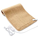 Heating Pads for Back Pain,18'x33' Large Electric Heating Pads with Auto Shut Off,6 Temperature Settings, Super-Soft, Fast Heating for Neck Back Shoulder Relief and Cramps