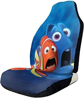Dale Brewer Front Car Seat Covers Set of 1 PCS/2 PCS Fish Dory and Marlin Front Bucket Seat Protector Universal Fit Any Cars Trucks SUV