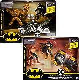 BATMAN - PACK VÉHICULE + 2 FIGURINES 10 CM - DC COMICS - Véhicule et figurines jouet...