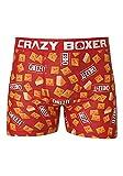 Kalan LP Crazy Boxers Men's Cheez-It Boxer Briefs X-Large Orange