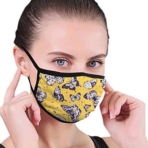 Just Relax Shop máscara facial antipolvo Dragoy Erfly para polvo, lavable y reutilizable, antipolvo