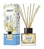 AREON Difusor Ambientador Varillas Perfume 50ml, Aroma SPA - ambientador Coche Nuevo hogar casa ambientadores Olor baño humificador electrico difusor Armario