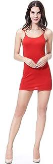 فساتين الصيف من CaptainSwim للنساء بأكمام قابلة للتمدد تنورة قصيرة من الكتف