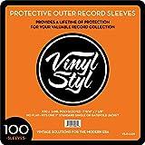 Vinyl STYL 7 9/16' X 7 5/8' Poly Sleeve 100CT