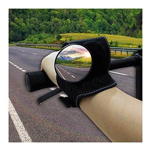 VINNAR Fahrradspiegel, Fahrrad-Rückspiegel für Radfahrer, Sicherheit, Mountainbike, Rennrad, Fahrradzubehör, Motorradlenker-Reflektor, Handgelenkspiegel