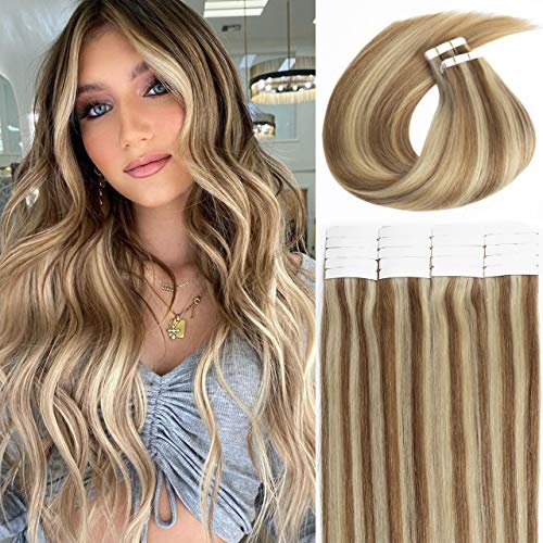 LacerHair Highlight Tape in Hair Extensions 14...