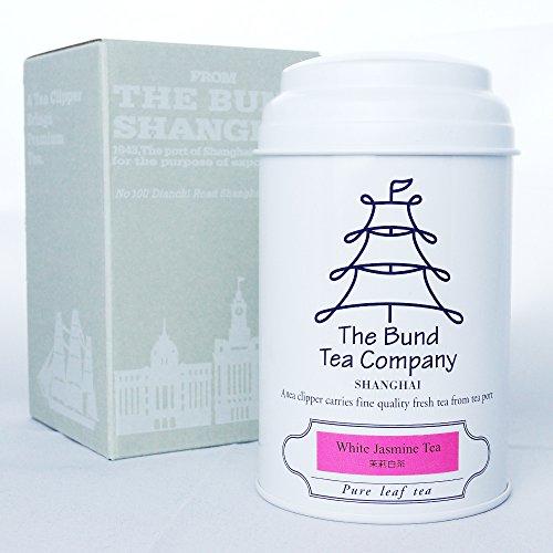 バンドティーカンパニー ホワイトジャスミンティー(リーフ) 高級茶葉 1缶30g