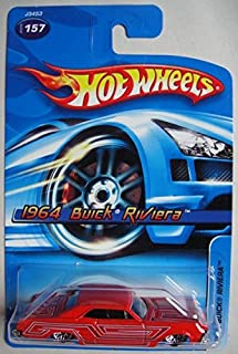 HOT WHEELS RED 1964 BUICK RIVIERA #157
