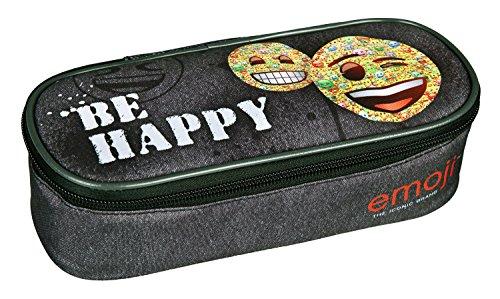 Undercover EMCA7731 - Schlamperbox, Emoji, ca. 23 x 11 x 6 cm