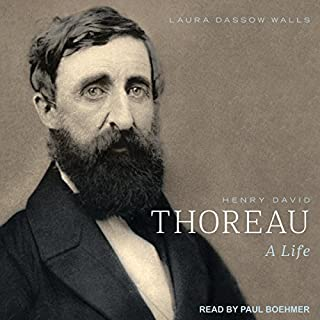 Henry David Thoreau audiobook cover art