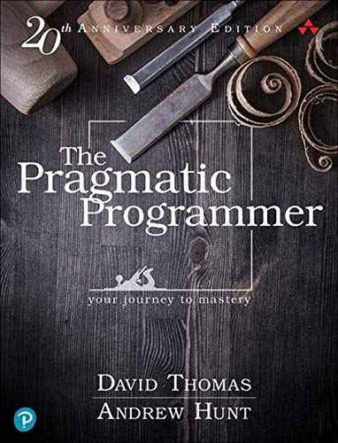 The Pragmatic Programmer: Your Journey to Mastery, 20th Anniversary Edition (2nd Edition) - Hardcover by David Thomas
