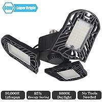 Shine Light 60W 6000lm Tribright Deformable LED Garage Light