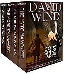 THe Four Book Boxed Set: Cops SPies & PI's