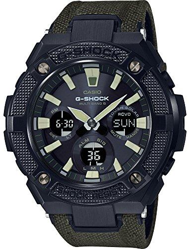 Casio Herren Analog Quarz Uhr mit Plastik Armband GST-W130BC-1A3ER
