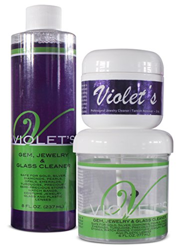 Price comparison product image Violet's Gem and Jewelry Cleaner (Deluxe Cream Kit