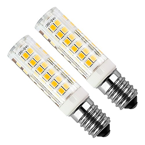 Kakanuo 2pcs E14 5W LED Ampoule 430lm 220V Blanc Chaud 3000K Remplacement A L'halogène Non-dimmable 75 2835smd