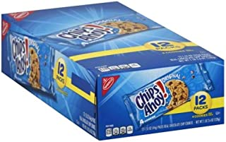 Chips Ahoy! Chocolate Chip Cookies, Single Serve, 18.6 oz