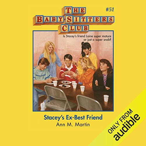 Stacey's Ex-Best Friend audiobook cover art