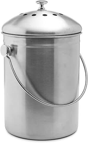 indoor compost bins for your kitchen   compost   compost bins   indoor compost   indoor compost bins   kitchen   composting