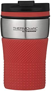 THERMOcafe by Thermos Vacuum Insulated Travel Cup Red 200ml, HV200DR6AUS