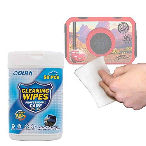 DURAGADGET Toallitas Especiales para Limpiar Su cámara de niño Ingo Devices Hello Kitty | Minni | Violetta | Sakar Hello Kitty
