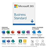 Image of Microsoft 365 Business Standard | Office 365 apps | 1 user | up to 5 PCs/Macs, 5 tablets and 5 phones | 1 year subscription | multilingual | download