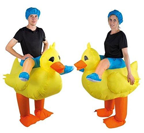 P'TIT Clown re90427 - Costume adulte gonflable de canard, taille unique
