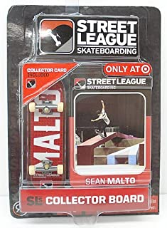 Ronin Syndicate Street League Skateboarding Pro Series 1 Red Skateboard & Sean Malto Collector Card Target Exclusive