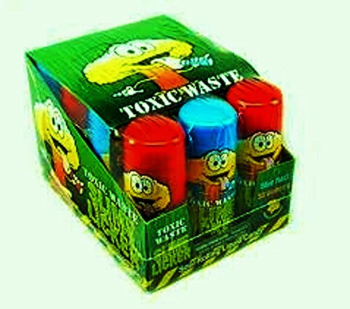 Toxic Waste Slime Lickers Sour Rolling Liquid Candy 12 ct