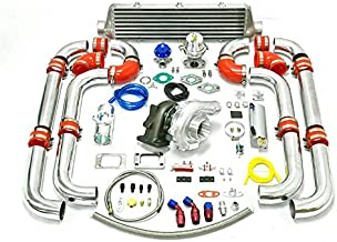 Universal Turbocharged Upgrade T04E T3 11pc Turbo Kit