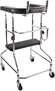 Elderly walker Lower Limb Rehabilitation Trainer Stand Waterproof Have a seat Adjustable Height Infusion Stand Reserved Hole Walking Assisted walker