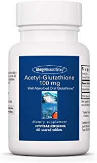 Allergy Research Group ACETYL-GLUTATHIONE, 100 mg 60 tabs