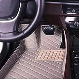 FYMIJJ Juego de Alfombrillas de Coche,1 Alfombrillas de Coche Personalizadas para Todos los Modelos Hyundai terracan Accent Elantra Azera lantra Tucson iX25 i30 iX35 Sonata, 1 Pieza Gris