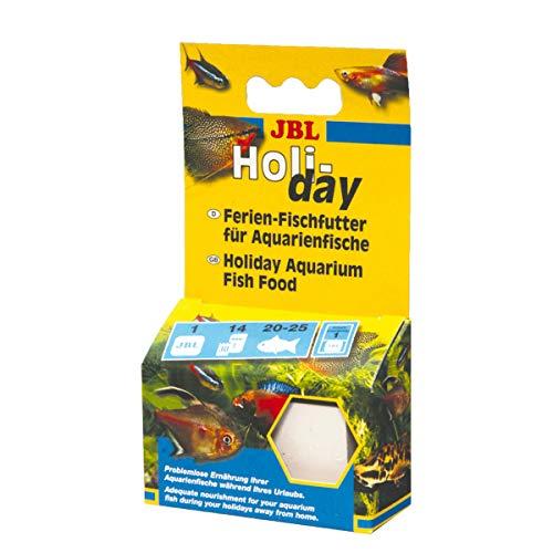 JBL Holiday - Aliment de vacances complet pour tous poissons d'aquarium