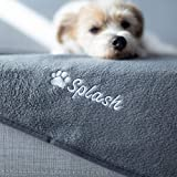 Give Warmth Buy One Give One Customizable Premium Dog Blanket 30' x 40' - Embroider Your Dog's Name on This Cozy Fleece Blanket