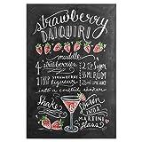 artboxONE Poster 30x20 cm Cocktails Typografie