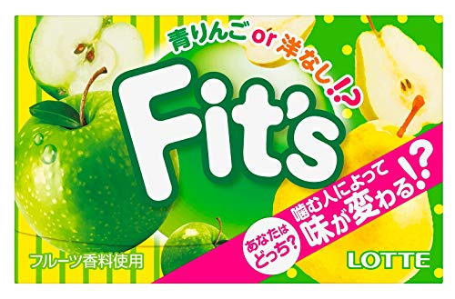 Fit's 青りんごor洋なし!? 10個