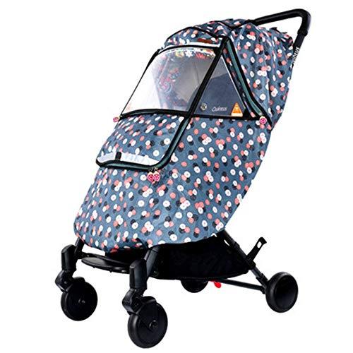 Lzcaure-BB Kinderwagen Regenschutz Kinderwagen Wetterschutzabdeckung warmen Winter-Baby aus der Artifact Windschutzscheibe Universal-Kinderwagen Raincoats (Farbe : B, Größe : 01)