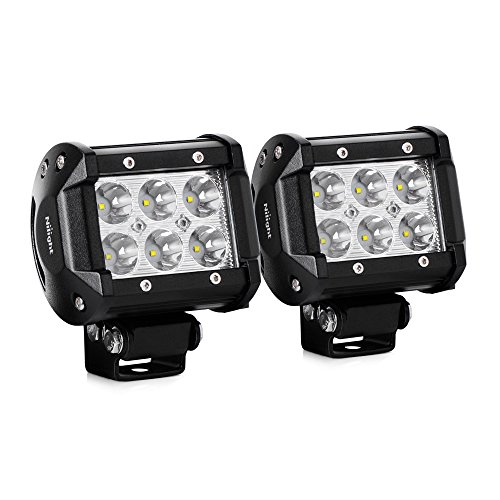 Nilight 18003C-A LED Bar (15' Flood Spot Combo Beam Driving Lamp for Off Road)