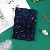 カスタム iPad Pro 11 2018 ケース (2018新モデル) マグネットス吸着式 オートスリープ機能星いっぱいの暗い空の鮮やかな天体のテーマコスモス銀河団星座装飾