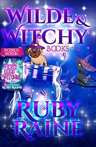 Wilde & Witchy Books 1-2 (A Paranormal Mystery Romance) (Wilde & Witchy Bundles Book 1)