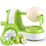 HTYX Mechanical Peeler Quick Peeling Elderly Fruit Knife Multifunction Fruit Apple Peeling Machine Family Kitchen Hospital 360 Degree Rotating Blade