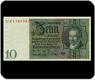 Reich Mark Reich Banco de direktorium Ordenador Pago Medio Dinero Billete Alemania–Alfombrilla para ratón Mousepad Orden...