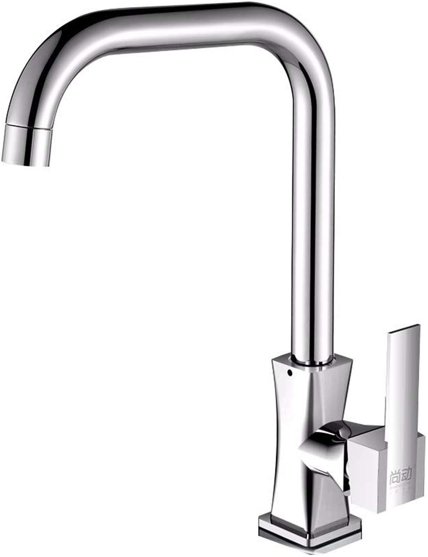 Brass Mixer Tap,Bathroom Faucet Washroom Sink Basin Single Lever Chrome