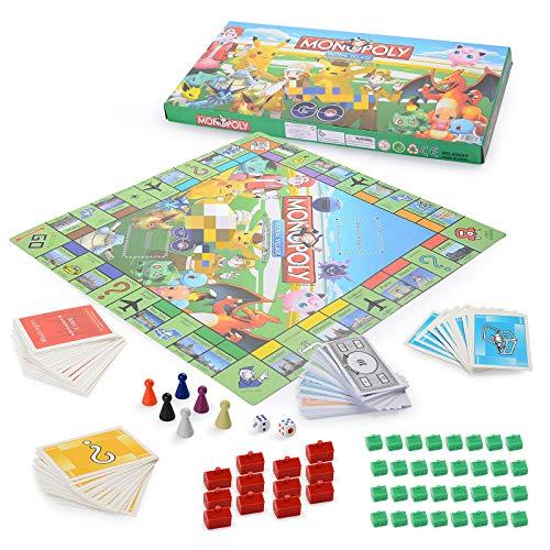 YNK Klassiker Brettspiele Kinder, Brettspiele Familienspiele, Gemeinschaftsspiel, Gesellschaftsspiel für Kinder ab 6 Jahre (A)