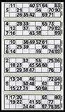 600 Tickets de Bingo Pad Gris - 6 pour afficher des Flyers...